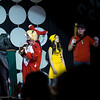 Evil Queen, Harley Quinn, Pikachu, and Scout