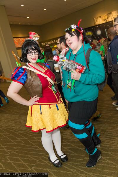 Snow White and Vanellope von Schweetz
