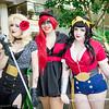 Black Canary, Batwoman, and Wonder Woman