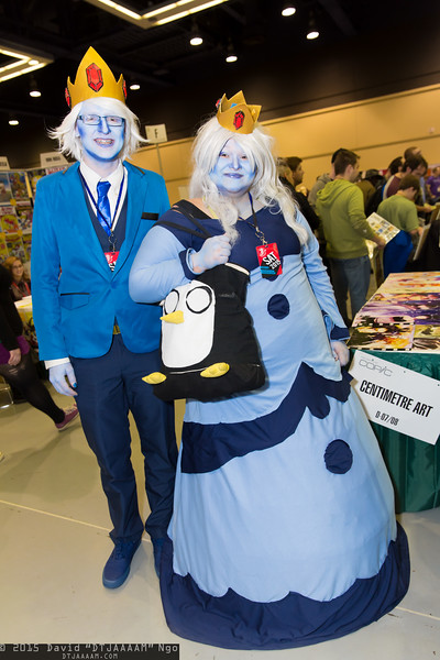 Ice King, Ice Queen, and Gunter