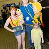 Misty, Togepi, Ash Ketchum, Pikachu, and Charmander