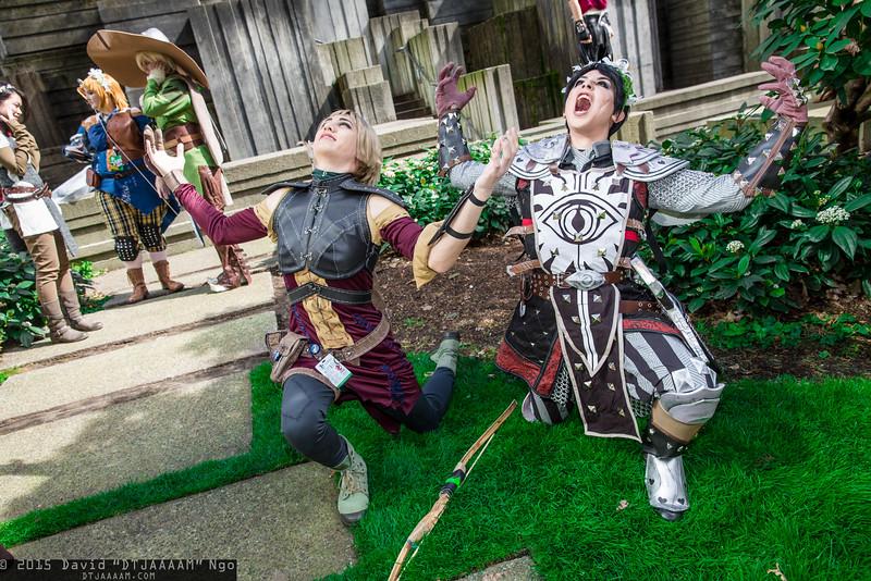 Sera and Cassandra Pentaghast