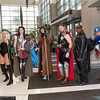 Ms. Marvel, Storm Sif, Gambit, Thor, Nick Fury, and Captain America