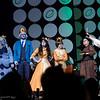 Ice Queen, Ice King, Vriska Serket, John Egbert, Mrs. Lovett, and Sweeney todd