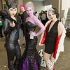 Maleficent, Ursula, and Cruella de Vil
