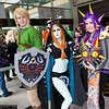Link, Midna, and Majora