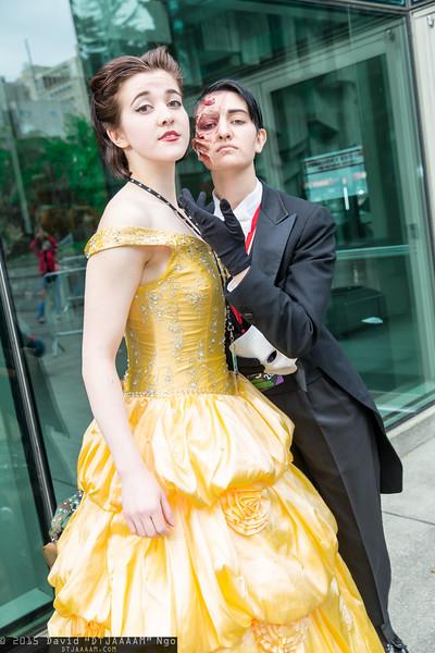 Christine Daae and Phantom of the Opera