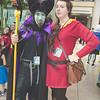 Maleficent and Gaston