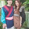 Mulan and Shan Yu