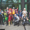 Hawkeye, Rogue, Professor X, Phoenix, Colossus, Cable, Spider-Man, Psylocke, Storm, Emma Frost, and Toad