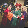 Mary Sanderson, Winifred Sanderson, and Sarah Sanderson
