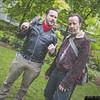 Negan and Rick Grimes