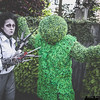 Edward Scissorhands and Hedge