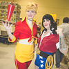 Jesse Quick and Wonder Woman
