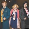 Newt Scamander, Queenie Goldstein, and Tina Goldstein