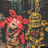 Foxy and Springtrap