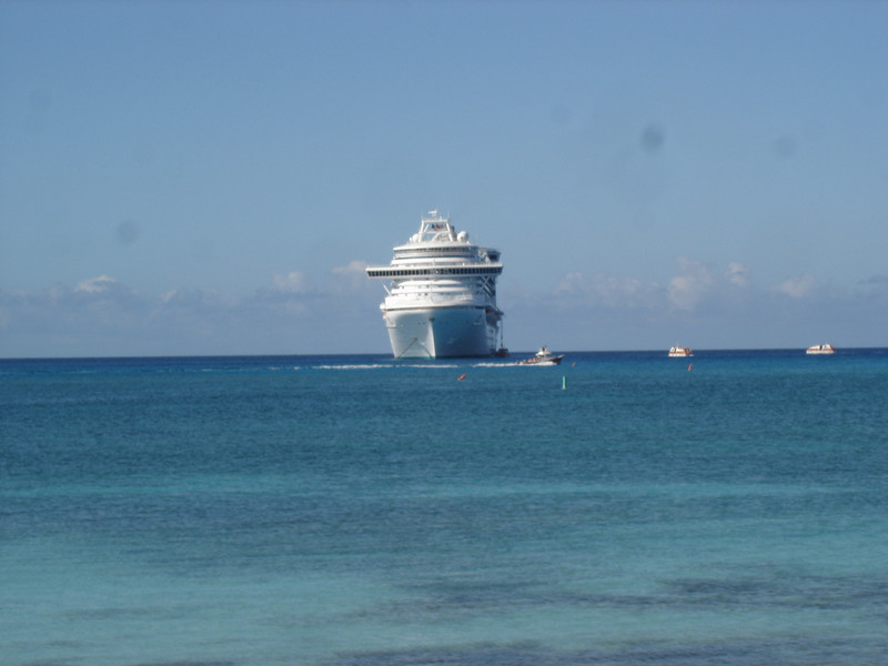 Em as seen from Princess Cays