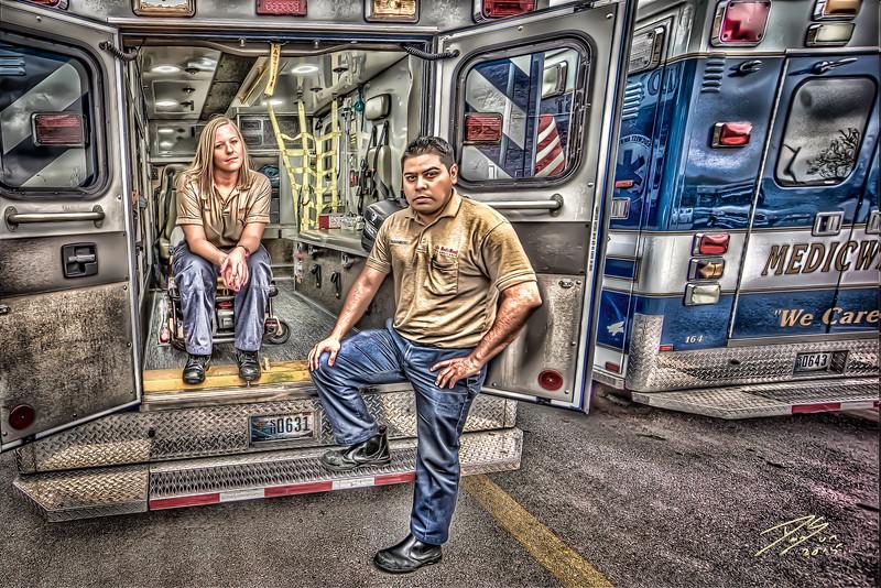 Hillary and Orlando - MedicWest Las Vegas