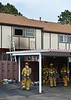 Colorado Springs Firefighters on the scene of a condominium fire, in the 3800 block of Constitution Avenue. April 11, 2015