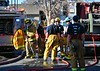 Colorado Springs Firefighters bring a house fire under control on Neal Court. March 21, 2015. CSFD Fire Engine 8 first in, along with Ladder Truck 8.