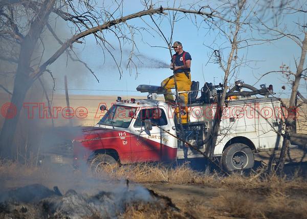 Karval Wildland Fire-Colorado