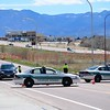 Colorado Springs Community Service Officers assisted CSPD in traffic control during a wildland fire inside Pulpit Rock Park.  April 24th, 2016