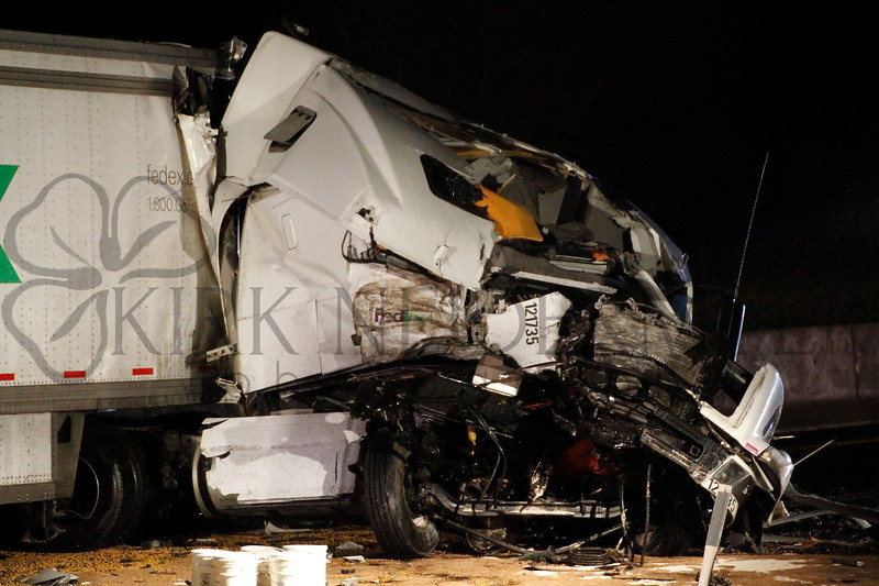 Turnpike Tractor Trailer Crash 4