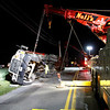 Tyson Truck Overturns