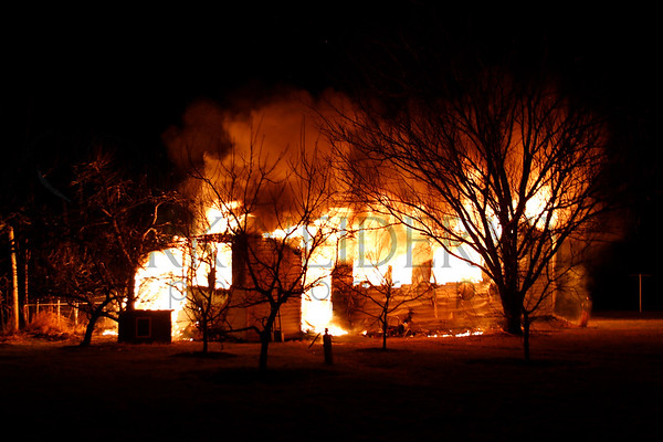 01.12.17 Outbuilding Fire in Earl Township