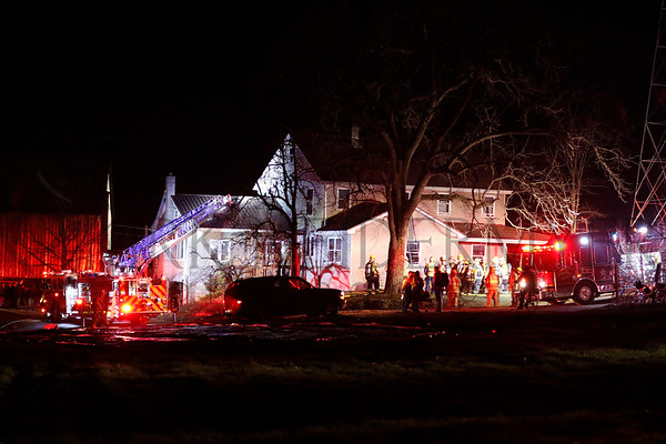 01.15.17 Reported House Fire in Brecknock Township
