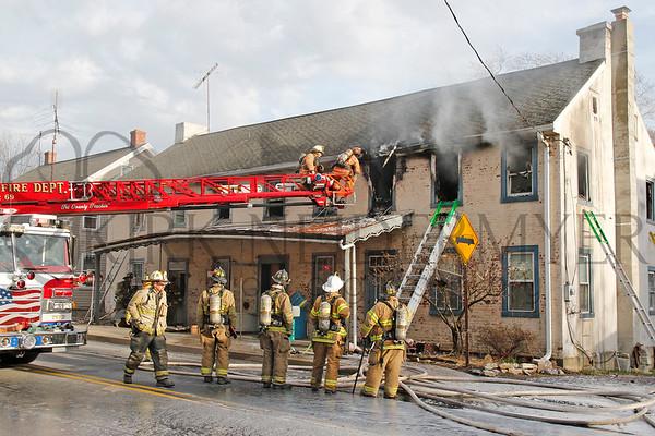 03.13.17 Working House Fire in Caernarvon Township