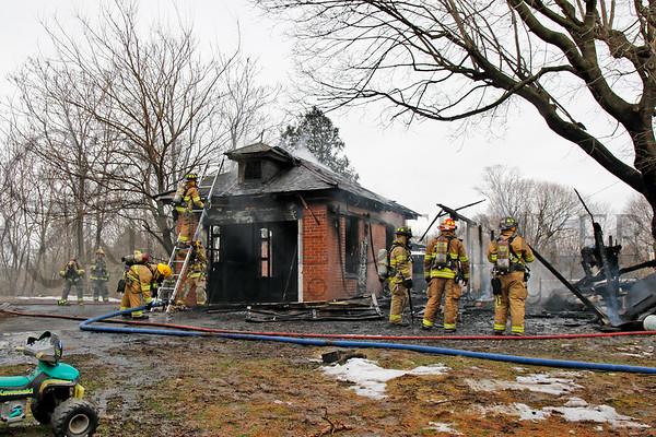03.20.17 Garage fire in Ephrata Township