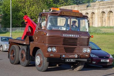 WLV991J 1970 Scammell Trunker