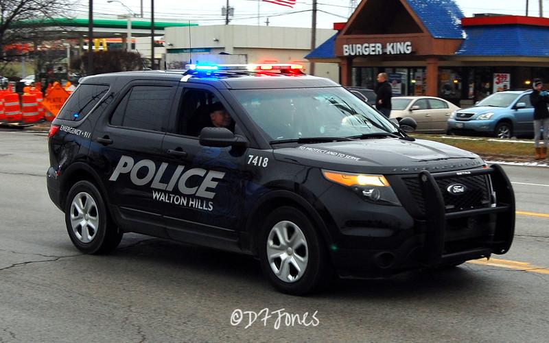 Walton Hills (Ohio) Police