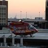FireStar 1 on the pad at Orlando Regional Medical Center