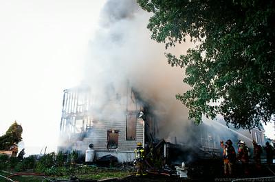 Riverview Drive Fire
