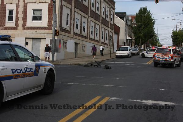 9/16/11 - 2nd & Gordon Streets - Bicyclist Struck