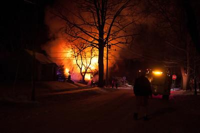 401 North A Street Fire