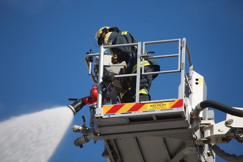 Fire in Bree street, May 2012