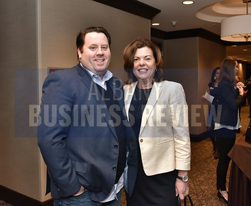 Tom Nardacci from Gramercy Communications and Tracy Metzger from TL Metzger & Associates