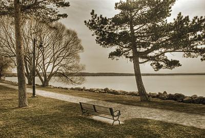 AE08a Springtime at the lake. Canandaigua Lake, NY. Copyright © 2010 Alex Emes
