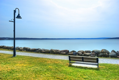AE08c Springtime at the lake. Canandaigua Lake, NY. Copyright © 2010 Alex Emes