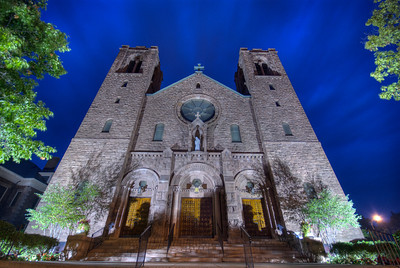 St. Mary's Catholic Church - Main St., Canandaigua, NY. Photo © Alex Emes