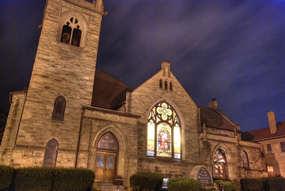 Church - Main St., Canandaigua, NY. Photo © Alex Emes