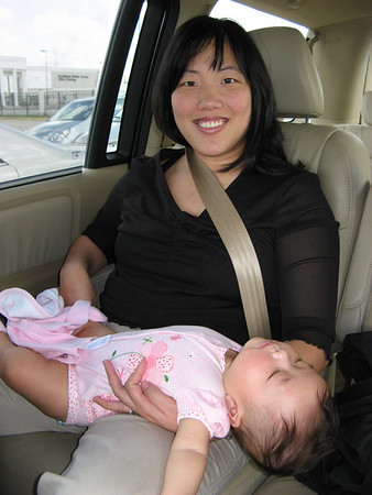 November 11, 2007 - You think she is tired.