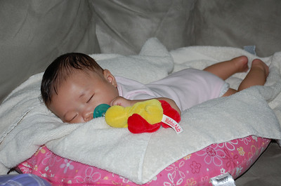 October 13, 2007 - Emily Snoozing on her Belly