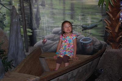 April 17, 2010 - Visit to the downtown Aquarium Restaurant and rides.