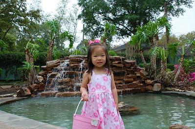 April 4, 2010 - Easter Dress Photo Shoot at Helen's Garden