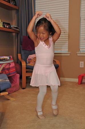 August 14, 2010 - Our New Little Ballerina