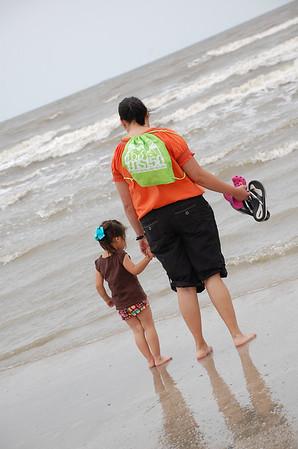 May 8, 2010 - Stroll on Galveston Beach